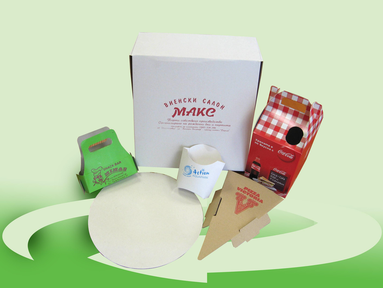 Подложки за пица на парче и Кутии за торти