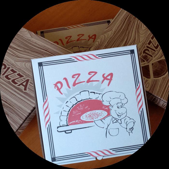 Кутии за пица с универсален печат от ВЕЛПАК 21